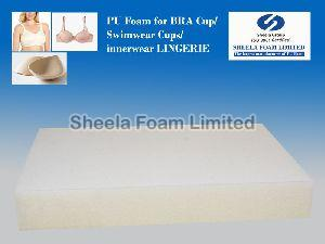 Bra Cup, PU Foam, Swimwear Cups,PU Foam for Bra Cups, Moulded PU Foam cups