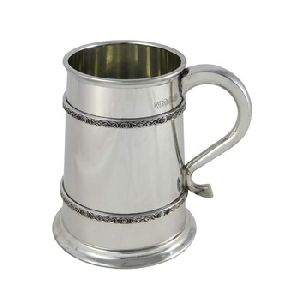 Stainless Steel Beer Tankard Mug