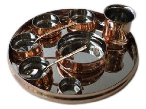 COPPER THALI SETS