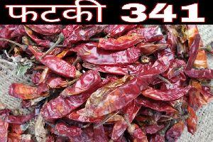 341 Fatki Dried Red Chilli