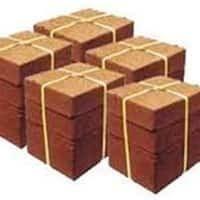 Coir Pith Briquettes