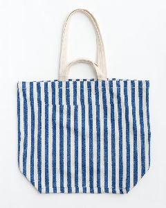 Striped Cotton Cloth Bags