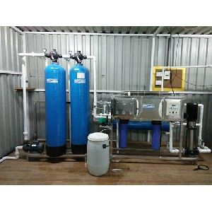 Stainless Steel RO Plant With Chiller