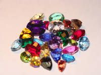 Multi Coloured Gemstones