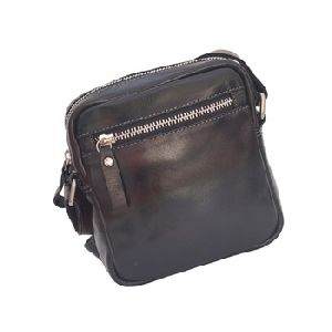 Premium Quality PU Leather Sling Travel Bag