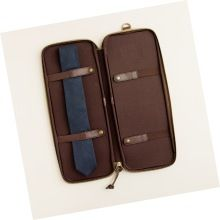 Quality Leather Delux Tie Case
