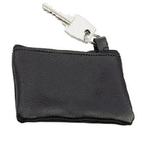 Zippered Coin Pouch Change Holder