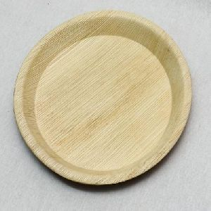 Biodegradable Areca Leaf Plain Plate