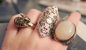 Artificial Finger Ring