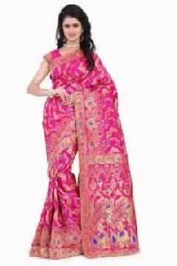 BANARASI SILK SAREE PARTYWEAR SAREE