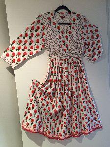 Ladies Multi Coloured Designer Dress