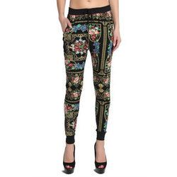 Ladies Printed Jeans