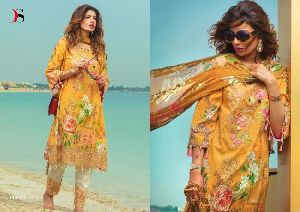 Cotton fabric Palazzo Suit Material