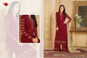 Print work Bollywood Suit