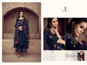 511 Sarthi Vol -2 NX Heavy Maslin Palazzo Suit