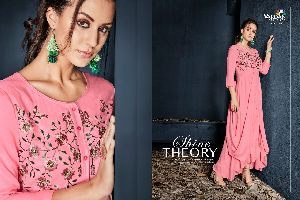 6007 Gulnaz Vol-1 Heavy Rayon Long Kurtis