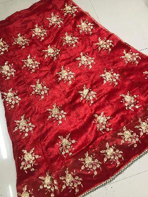 Embroidered Banglori Silk Lehenga Choli 07