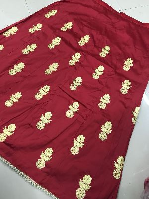 Embroidered Tapeta Silk Lehenga Choli 05