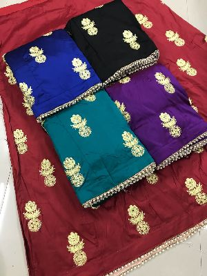 Embroidered Tapeta Silk Lehenga Choli 06