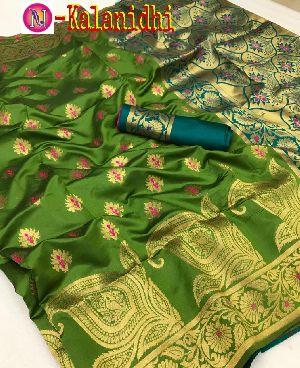 Heavy Art Banarasi Silk Saree 03