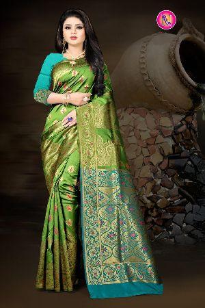 Heavy Art Banarasi Silk Saree 04