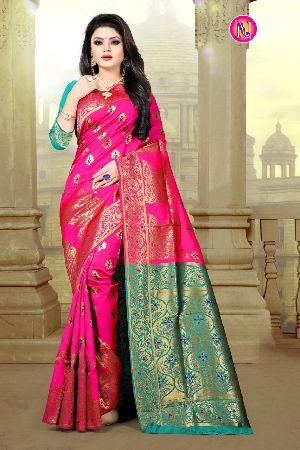 Heavy Art Banarasi Silk Saree 05