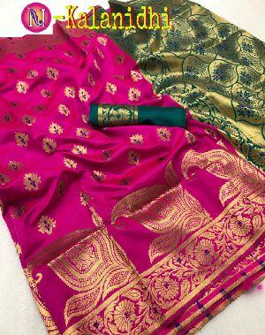 Heavy Art Banarasi Silk Saree 06