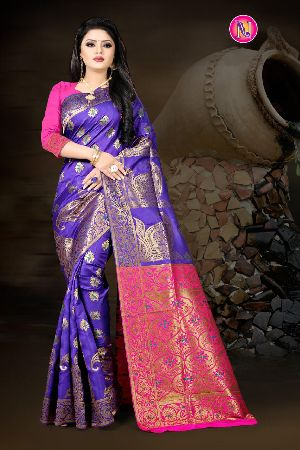 Heavy Art Banarasi Silk Saree 07