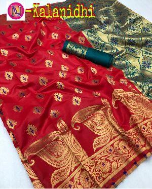 Heavy Art Banarasi Silk Saree 10