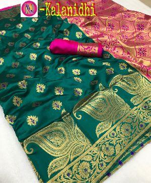 Heavy Art Banarasi Silk Saree 12