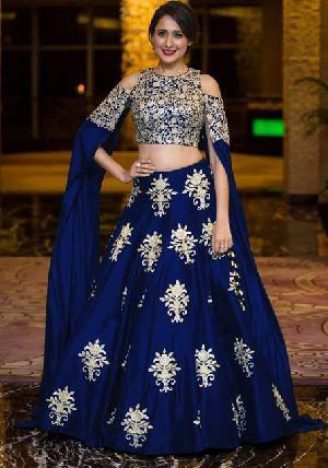 Heavy Work Tapeta Silk Lehenga Choli 05