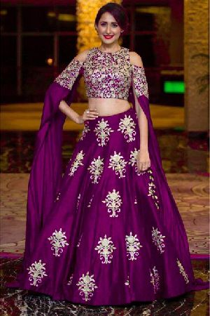 Heavy Work Tapeta Silk Lehenga Choli 06