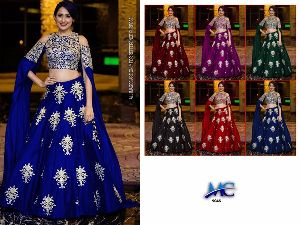 Heavy Work Tapeta Silk Lehenga Choli 08