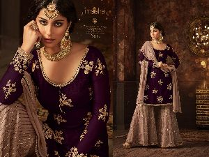 Maisha Embroidered Palazzo Suits