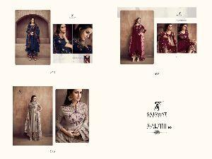 Sarthi Vol -2 NX Heavy Maslin Palazzo Suit 01