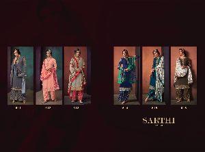Sarthi Vol-3 Heavy Maslin Palazzo Suit 05