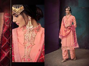 Sarthi Vol-3 Heavy Maslin Suits