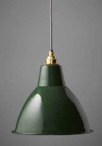 GREEN DECO FINISH DOME SHAPE INDUSTRIAL pendant lamp