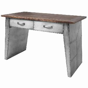 INDUSTRIAL STYLE RIVETED PANEL DESK