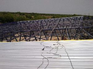 Roofing Sheet Fixing Work