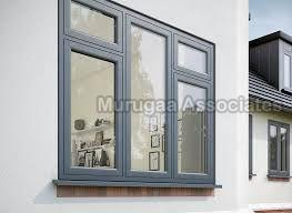 UPVC Flush Casement Window