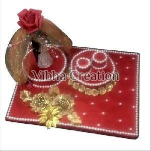 Decorative Engagement Ring Platter