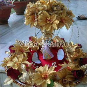 Floral Engagement Ring Platter
