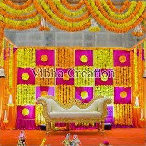 Flower Stage Decoration Service