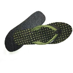 Ladies Rubber Flexible Slippers