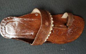 Leather Casual Kolhapuri Slipper