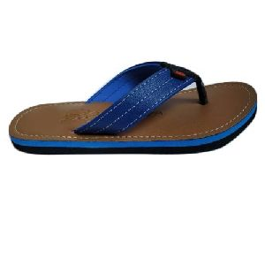 Mens Blue Flip Flop Slipper