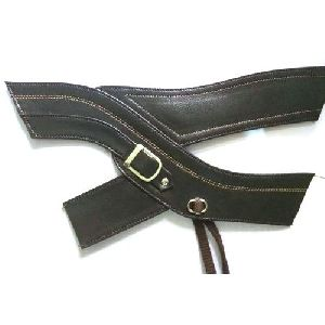Mens Designer Leather Slipper Strap