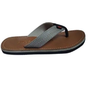 Mens Grey Flip Flop Slipper