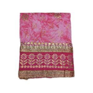 Embroidery Cotton Unstitched Suit Material